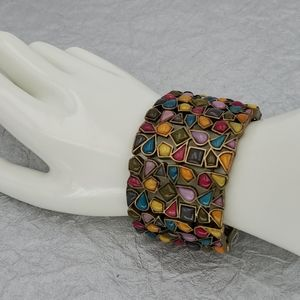 NWT - Lia Sophia Kiam Family Mosiac Bracelet